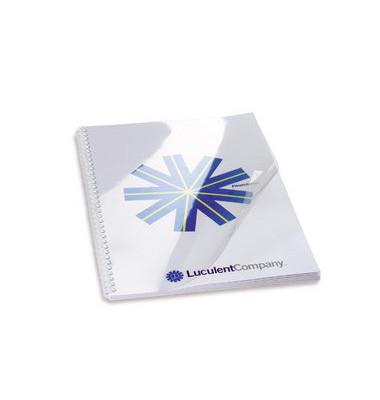 Umschlagfolien HiClear CE013080E A4 PVC 0,3 mm transparent glänzend 100 Stück