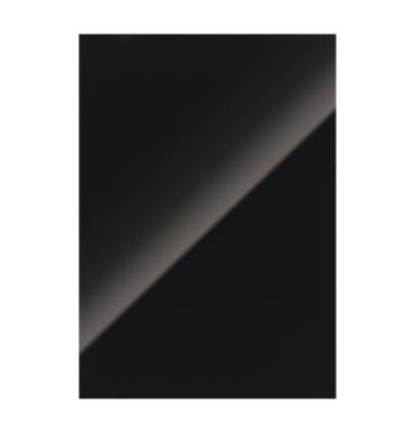 Einbanddeckel HiGloss-Karton schwarz A4 250g 100 St