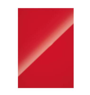 Rückwand Karton Chromolux rot A4 250g 100 St