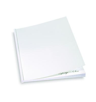 Umschlagkarton Regency CE030070 A4 Karton 325 g/m² weiß Lederstruktur 100 Stück