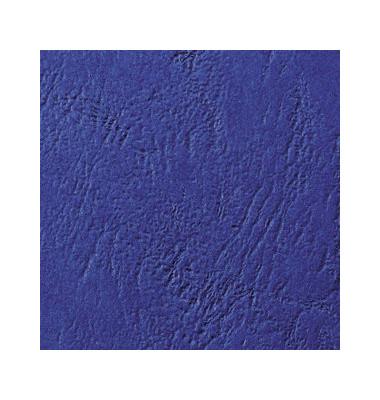 Umschlagkarton LeatherGrain CE040029 A4 Karton 250 g/m² royalblau Lederstruktur 100 Stück