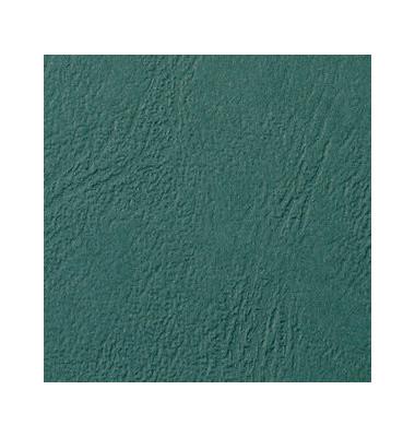 Umschlagkarton LeatherGrain CE040045 A4 Karton 250 g/m² grün Lederstruktur 100 Stück