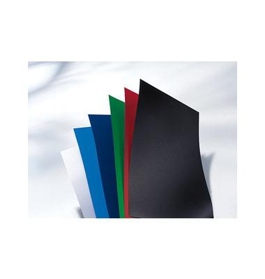 Umschlagfolien PolyOpaque IB386831 A4 PP 0,3 mm schwarz glatt/matt 100 Stück
