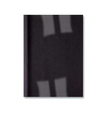 Thermobindemappe Leder schwarz A4 4mm 100 St