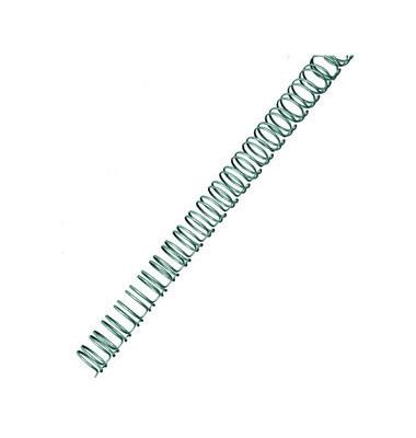 Drahtbinderücken WireBind RG810497 silber 3:1 34 Ringe auf A4 55 Blatt 6mm 100 Stück