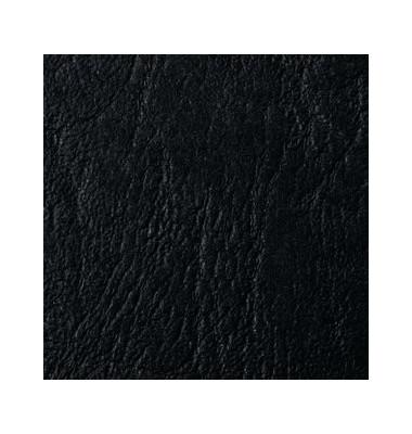 Umschlagkarton LeatherGrain T22410029 A3 Karton 250 g/m² schwarz Lederstruktur 100 Stück