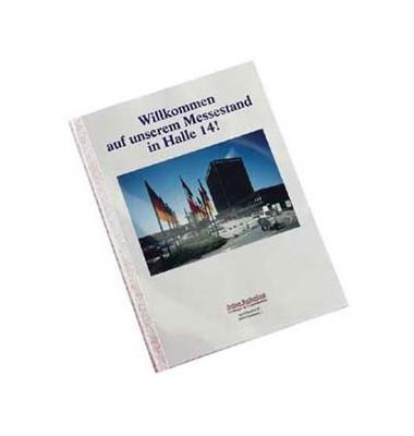 Thermobindemappe ThermaBind Optimal A4 weiß 1,5mm 220g 15 Blatt 100 Stück
