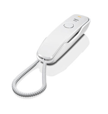 Telefon schnurgebunden DA210 schwarz Wandmontage