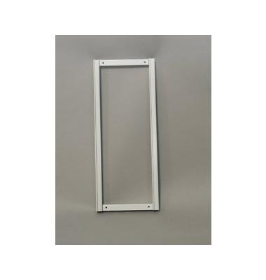 Rahmen 1000I f.Wandsort.anl. l.grau H:550mm
