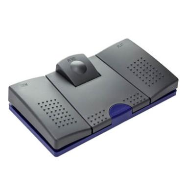 Fußschalter 536 für Diktiergeräte schwarz
