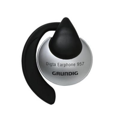 Einohrkopfhörer Digta Earphone 957 schwarz/silber