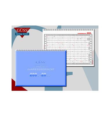 Mehrjahreskalender 1210 1Jahr/1Seite 30x20cm 2020