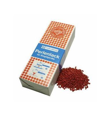 Perlenlack für Schnellsiegler zinn.rot 500g