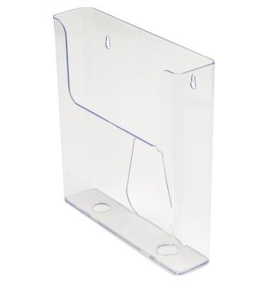 Prospekthalter DE76401 transparent DIN A4 hoch