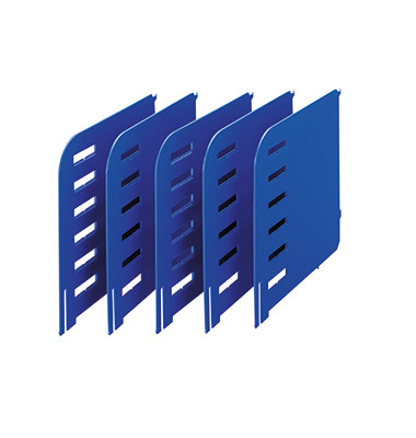 rac Trennwände/280-3015.35 TxH 231x240mm blau Kunststoff Inh.5
