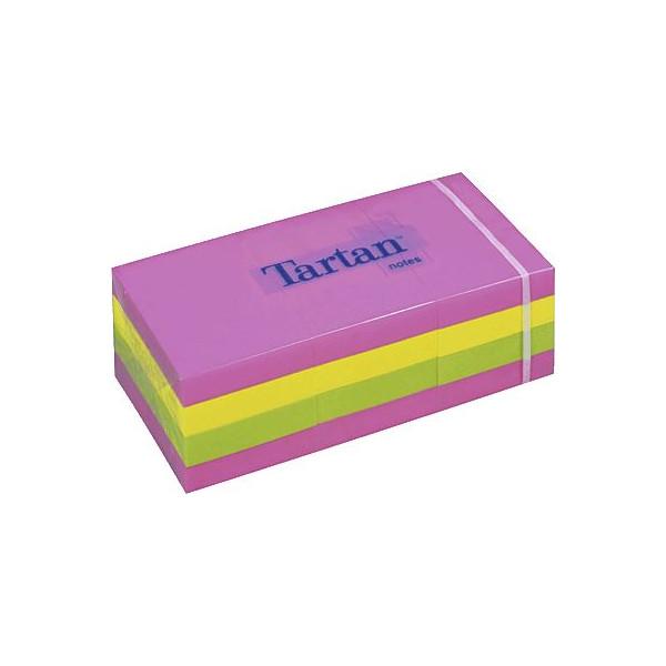 5138N 3M Tartan Haftnotizen neon 38x51mm 3134375462211