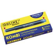 Kombi-Tintenpatrone/17202 blau Inh.5