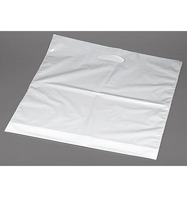 Tragetaschen 12353 50X45X5cm weiß LDPE Inh.100 Stück