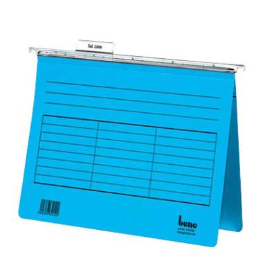 Hängehefter Vetro Mobil A4 230g Karton blau kaufmännische Heftung 5 Stück