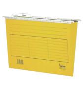 Hängemappen Vario Mobil 116505GE für DIN A4 gelb Karton 230g/qm 5 Stück