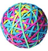 Gummiringe Ball 7440 Ø 70mm farbig sortiert 190g
