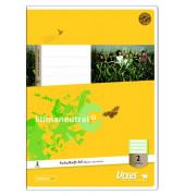 Schulheft Basic 2. Schuljahr A4 Lineatur 2 liniert weiß 32 Blatt