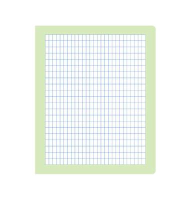 Rechenheft R.3 Quart kariert mit Rahmen weiß 20 Blatt