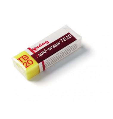 Radierer TB20 Plastik