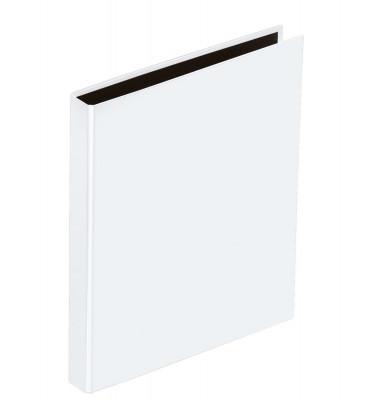 Ringbuch Basic Colours A5 weiß 2-Ring Ø 25mm