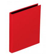 Ringbuch Basic Colours A5 rot 2-Ring Ø 25mm
