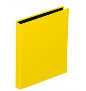 Ringbuch Basic Colours A5 gelb 2-Ring Ø 25mm