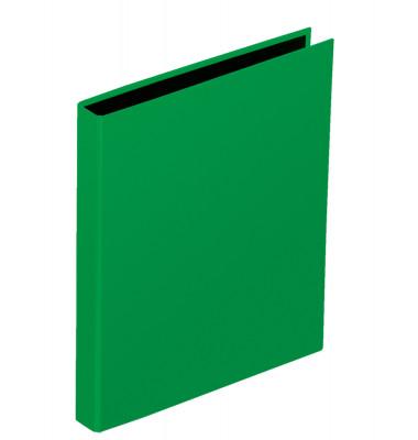 Ringbuch Basic Colours A5 grün 2-Ring Ø 25mm