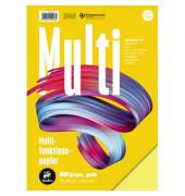 7xPlus Colors gelb intensiv A4 80g Kopierpapier 50 Blatt