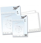 Zeichenpapier A4 weiß blanko 10 Blatt