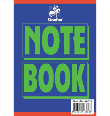 Collegeblock Notebook 46038, A6 kariert 160 Blatt