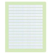 Rechenheft R.1 Quart kariert mit Rahmen weiß 20 Blatt