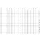 Spaltenbuch 86-1195603 A4 96 Blatt mit Kopfleiste 16 Spalten über 2 Seiten