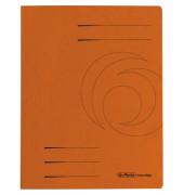 Schnellhefter Colorspan A4 intensiv orange 355g Karton kaufmännische Heftung / Amtsheftung