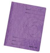 Schnellhefter Colorspan A4 intensiv violett 355g Karton kaufmännische Heftung / Amtsheftung