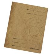 Schnellhefter 1090 A4 intensiv braun 355g Karton kaufmännische Heftung / Amtsheftung bis 250 Blatt