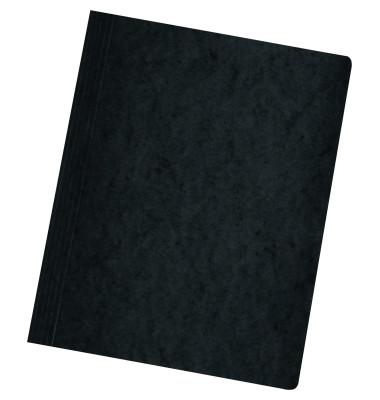 Schnellhefter 1090 A4 intensiv schwarz 355g Karton kaufmännische Heftung / Amtsheftung bis 250 Blatt
