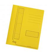 Schnellhefter 11287 A4 intensiv gelb 240g Karton kaufmännische Heftung / Amtsheftung