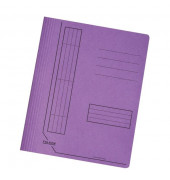 Schnellhefter 11287 A4 intensiv violett 240g Karton kaufmännische Heftung / Amtsheftung