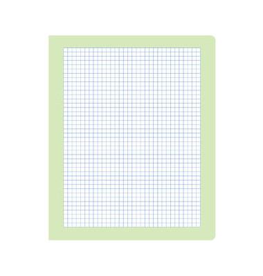 Rechenheft R.4 Quart kariert mit Rahmen weiß 20 Blatt