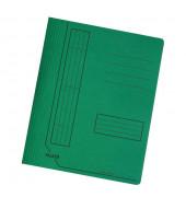 Schnellhefter 11287 A4 intensiv dunkelgrün 240g Karton kaufmännische Heftung / Amtsheftung