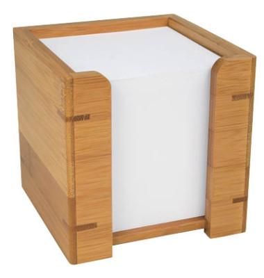 Zettelbox Bambus