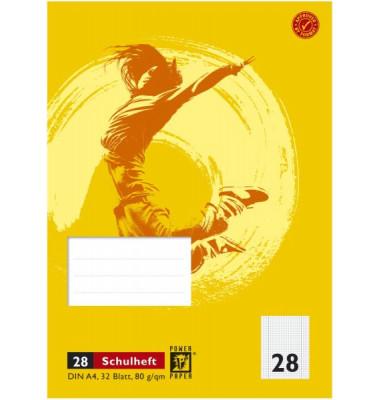 Schulheft A4 32 Blatt blanko