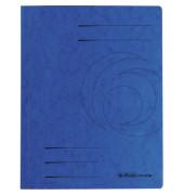 Schnellhefter 1090 A4 intensiv blau 355g Karton kaufmännische Heftung / Amtsheftung bis 250 Blatt