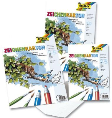Zeichenkarton 200g A2 1 Blatt