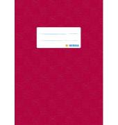 Heftschoner 7430 A5 Folie gedruckt weinrot
